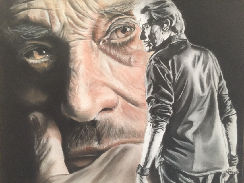 Johnny Hallyday by crokportrait